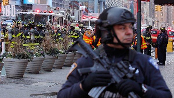 Появились подробности взрыва в Нью-Йорке