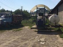 Одна из нелегальных заправок в Закарпатской области