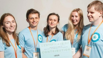 Стартап ISEE: Украинские студенты разработали мобильное приложение для незрячих людей