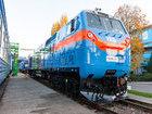 Тепловоз Тризуб от General Electric проехал первые 150 км от Кременчуга до Ромодана. ФОТОрепортаж