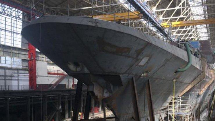 ВМС Франции показали новейший фрегат (видео)