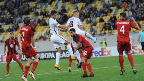 Луганская Заря уступила Эстерсунду в матче Лиги Европы