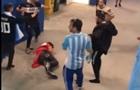 На матче Аргентина-Хорватии произошла драка