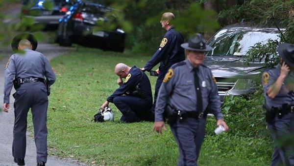 Два человека погибли при крушении вертолета в Шарлоттсвилле в США