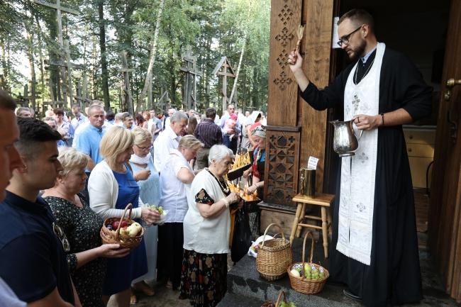 На Горі хрестів – Грабарці святкують празник Спаса
