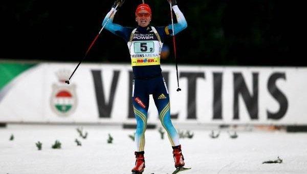На Олимпиаде украинские биатлонисты заняли 9-е место в эстафете