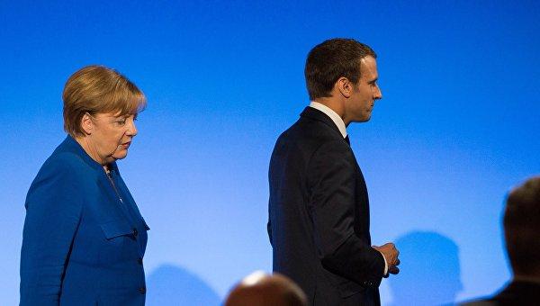 Меркель и Макрон призвали Москву повлиять на Дамаск
