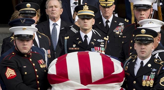 В Техасе похоронили 41-го президента США