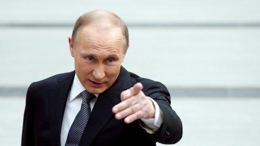 Лжец: в Перми чучело Путина привязали к столбу, есть фото