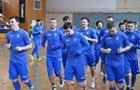 Сборная Украины по футзалу готовится к Евро-2018