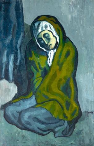 Под шедевром Пикассо обнаружили еще одну картину (ФОТО)