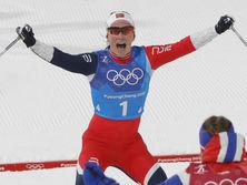 На этой Олимпиаде Бьорген завоевала уже полный комплект наград