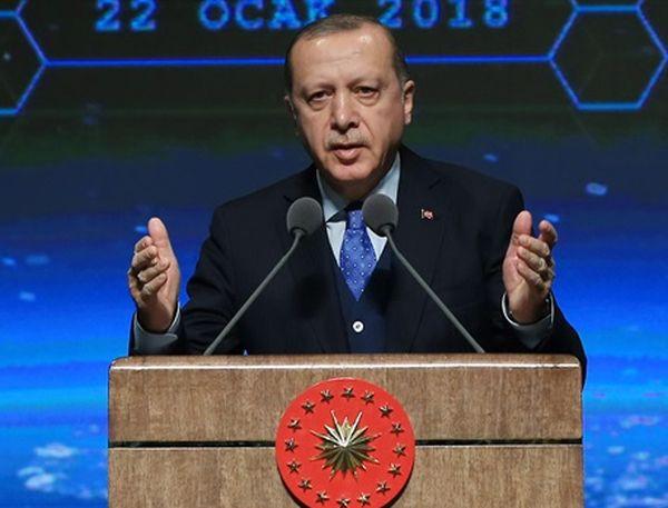 Эрдоган заявил о планах добиться полного разгрома курдских отрядов в Сирии