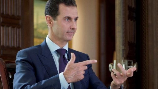 Асад обсудил военную операцию Запада в Сирии с партией Путина