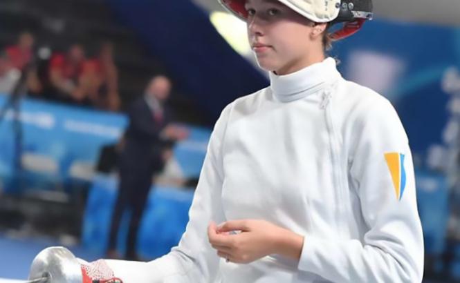 Украинская шпажистка завоевала золото на юношеской Олимпиаде