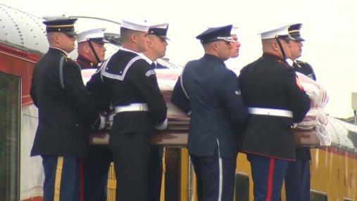 Джорджа Буша-старшего похоронили в Техасе