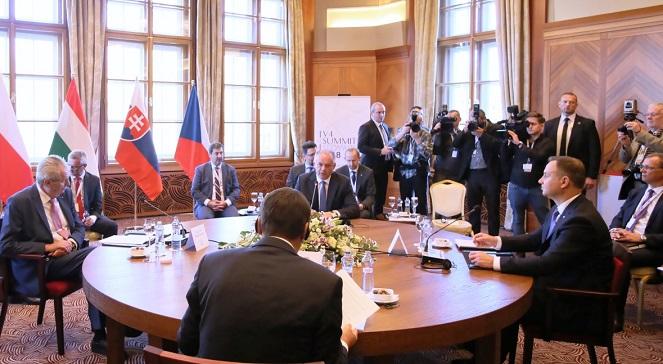 Саммит V4: нет разногласий по поводу Nord Stream 2