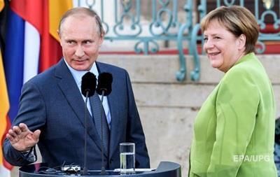 Встреча Меркель и Путина: в Кремле назвали причину