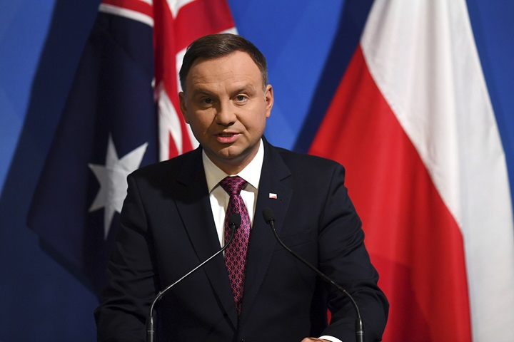 President opens Polish trade agency's office in Sydney