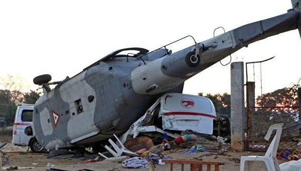 Число жертв крушения вертолета в Мексике выросло до 14