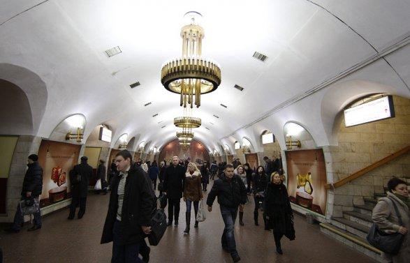 В центре Киева закрыты все станции метро угроза взрыва