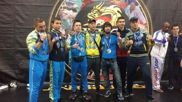 42 золотые медали: украинцы на Чемпионате мира по кикбоксингу впечатлили судей