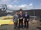 Перша партія американського вугілля вирушила в Україну. ФОТО