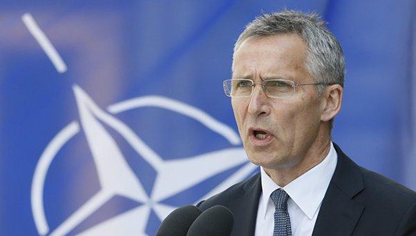 Генсек НАТО и Лавров обсудили Украину и размещение в Донбассе миротворцев