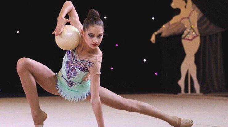 Гимнастка Влада Никольченко показала класс в Минске (видео)