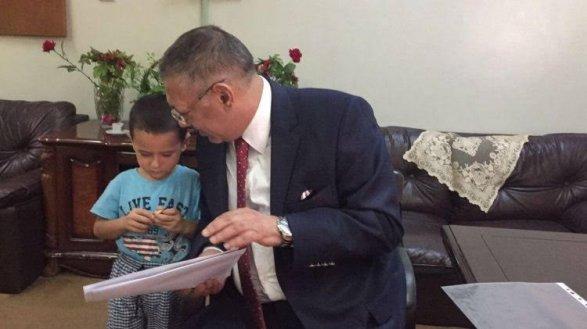 Маму убили, но 4-летнего азербайджанца спасли из Багдада Эксклюзив