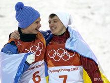 Олимпийский чемпион по фристайлу, украинец Александр Абраменко и россиянин Илья Буров