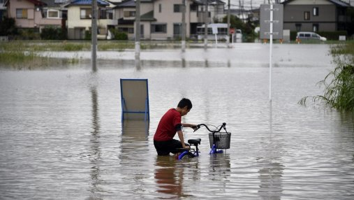 Мощные ливни в Японии унесли жизни уже по меньшей мере 200 человек