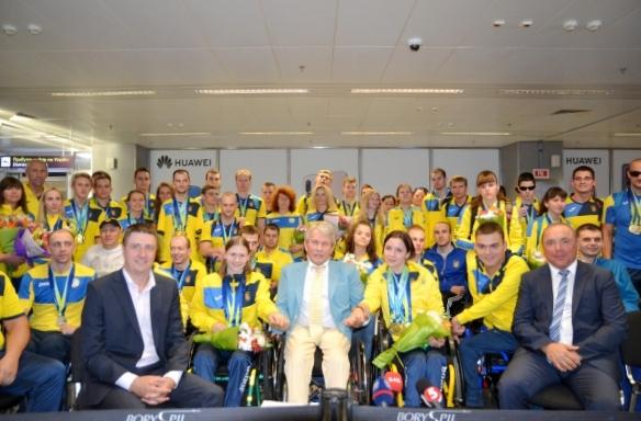 Паралимпийская сборная Украины по плаванию стала чемпионом Европы