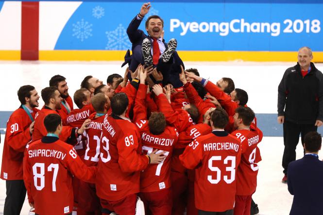 Олимпиада: спортсмены из России выиграли хоккейный турнир