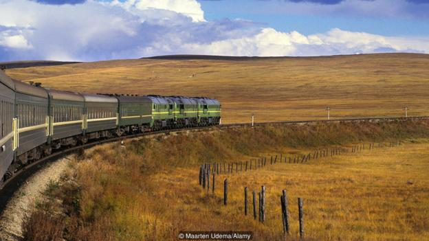 An epic train journey to a lost fortune