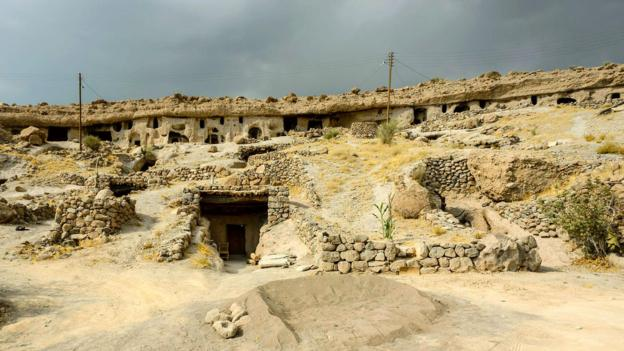 A 10,000-year-old cave village