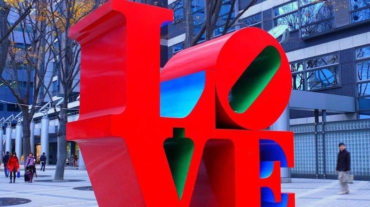 В США умер создатель легендарной скульптуры LOVE