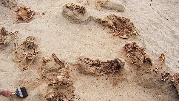 В Перу найдено место крупнейшего в истории жертвоприношения детей