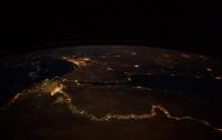 Астронавт NASA опубликовал снимок ночного Нила из космоса