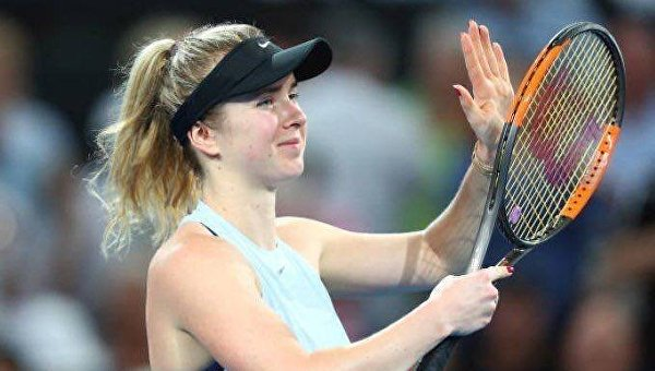 В финале теннисного турнира в Дубае Свитолина сыграет с россиянкой