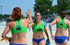Женская и мужская сборные Украины вышли из группы на ЧЕ по пляжному гандболу