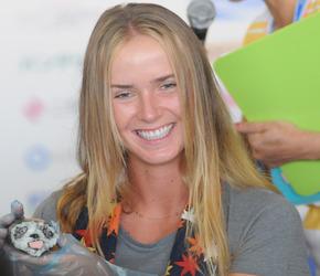 Порошенко поздравил теннисистку Свитолину с победой на турнире WTA