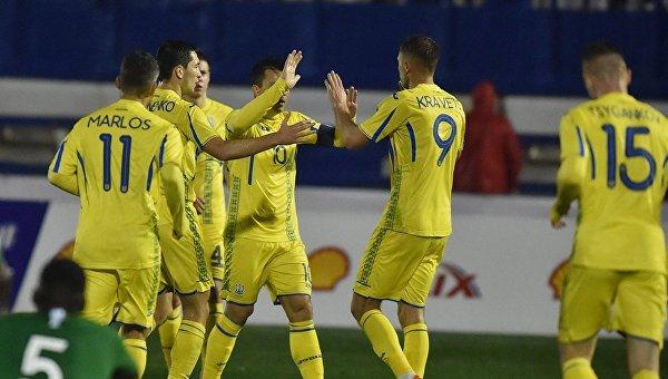 Украина не смогла победить Саудовскую Аравию в товарищеском матче