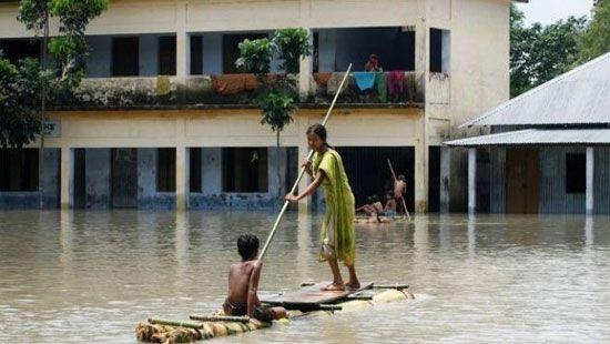 Жертвами наводнений и оползней в Азии стали более 800 человек