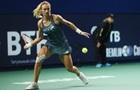 Цуренко не сумела пройти в полуфинал турнира в Москве