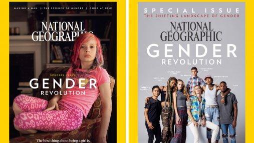 National Geographic показал все обложки журнала за 130 лет в одном видео