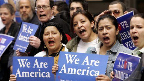 Доля мигрантов в США достигла рекордного показателя
