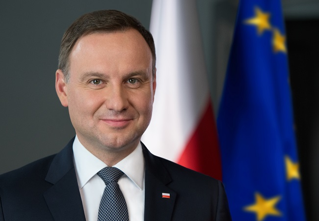 Polish president touches down in Melbourne