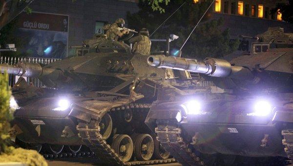Турецкие танки вошли в сирийский город и проводят операцию против курдов