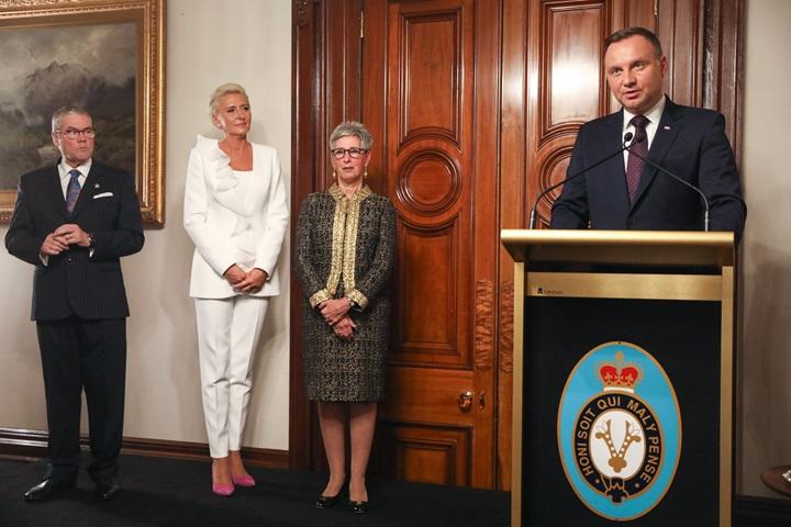 Australian visit aimed to boost economic cooperation, meet compatriots - President
